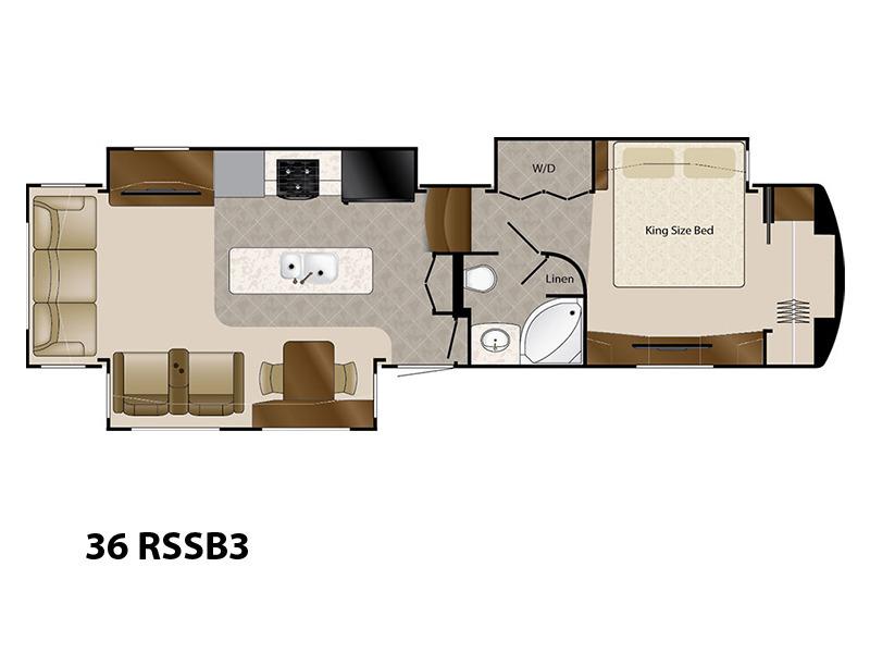 2017 DRV Mobile Suites 36 RSSB3