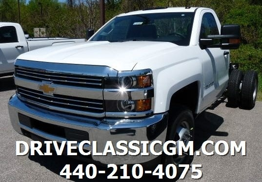 2016 Chevrolet Silverado 3500hd Chassis  Cab Chassis