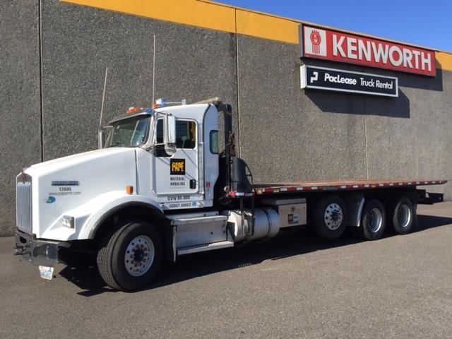2009 Kenworth T800 Rollback Tow Truck