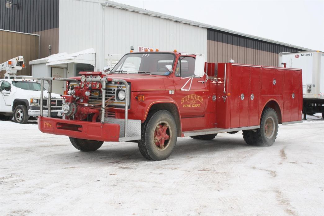 1982 Gmc 7000 Fire Truck