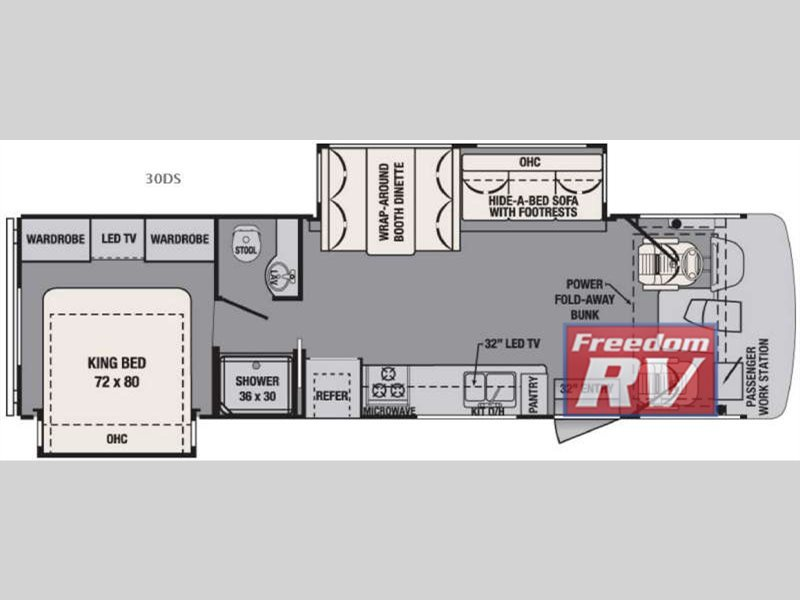 2016 Forest River Rv FR3 30DS