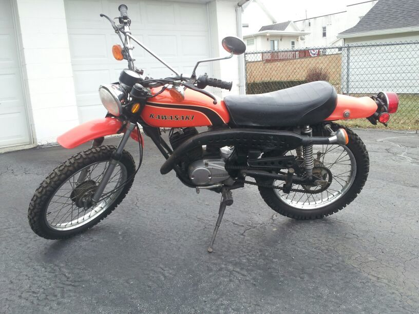 1974 Kawasaki Enduro Motorcycles for sale