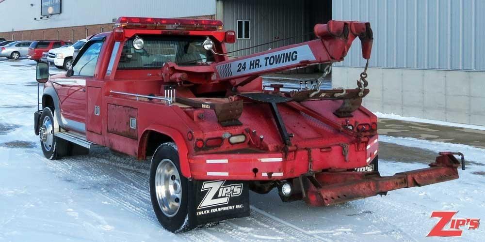 1995 Chevrolet 3500hd Wrecker Tow Truck