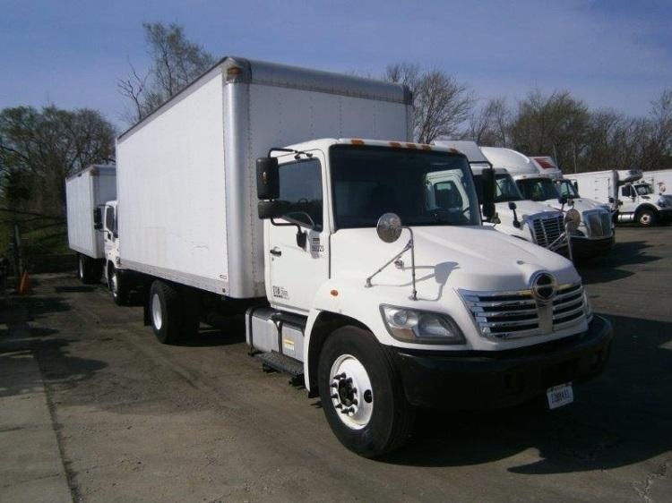 2009 Hino 258alp Box Truck - Straight Truck