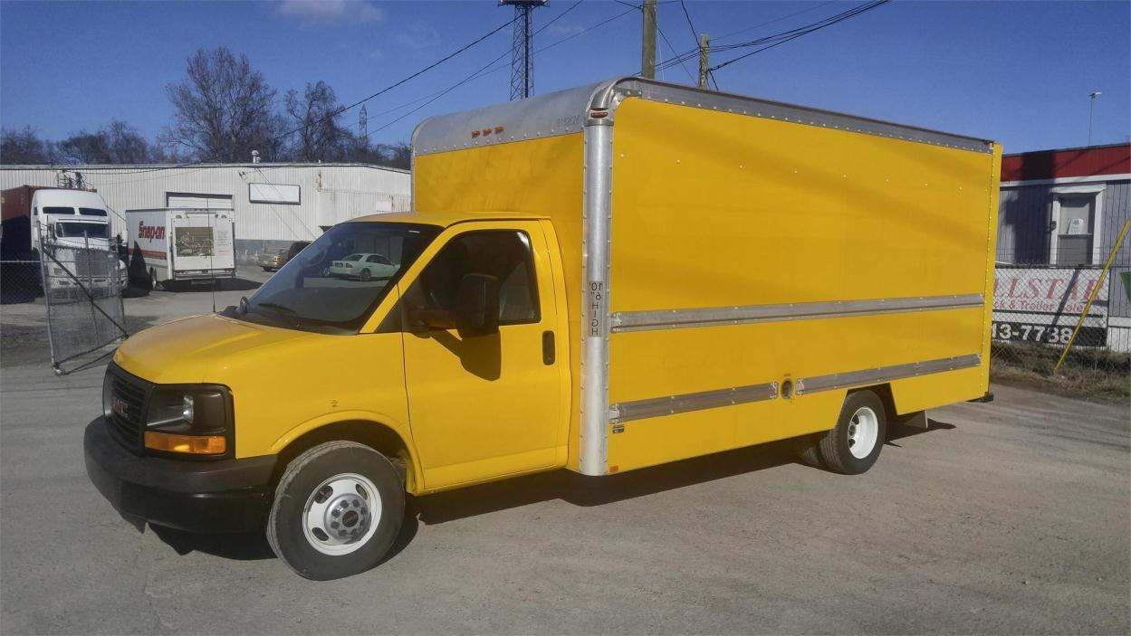 2012 Gmc Savana G3500  Box Truck - Straight Truck