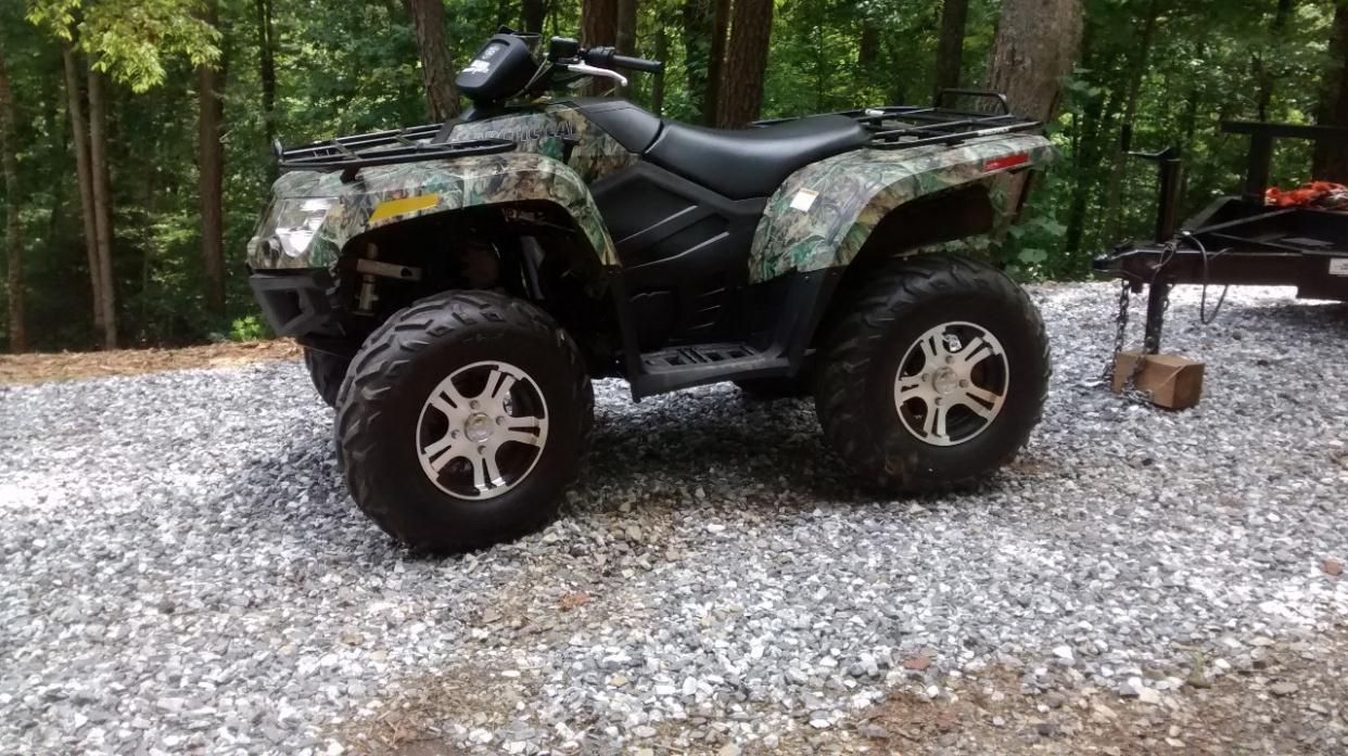 2012 Arctic Cat 550