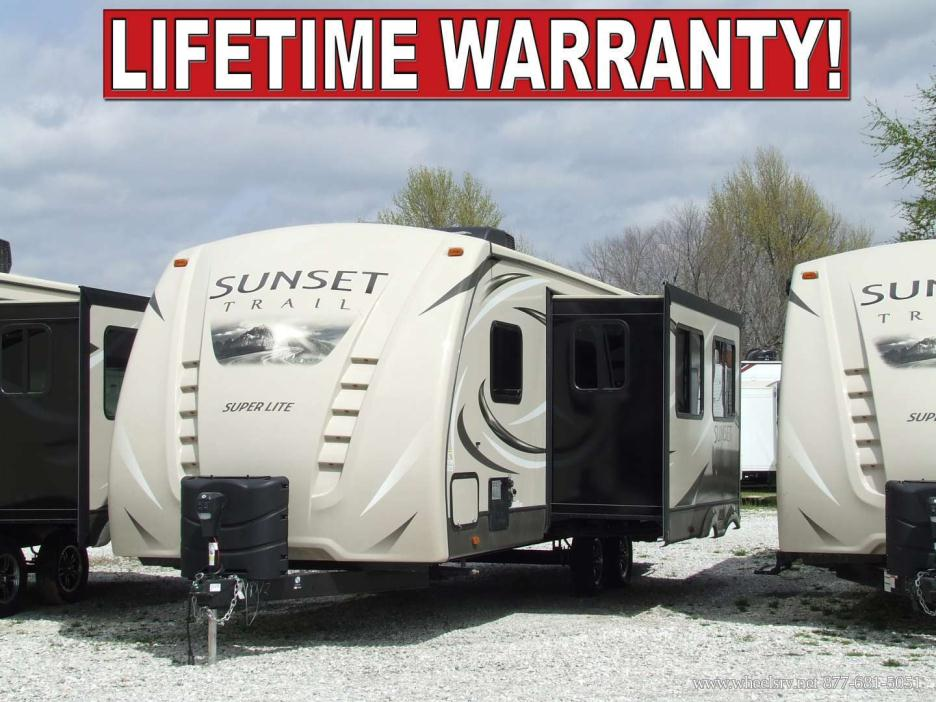 2010 Crossroads Sunset Trail 270bh Rvs For Sale