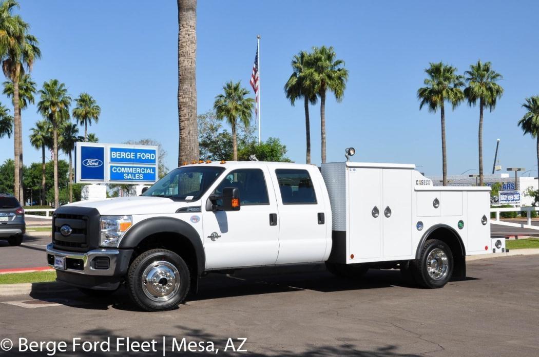 2016 Ford F550  Mechanics Truck