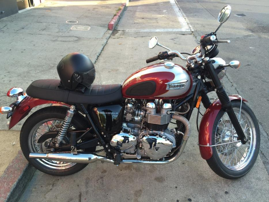 2008 triumph bonneville t100 motorcycles for sale. Black Bedroom Furniture Sets. Home Design Ideas