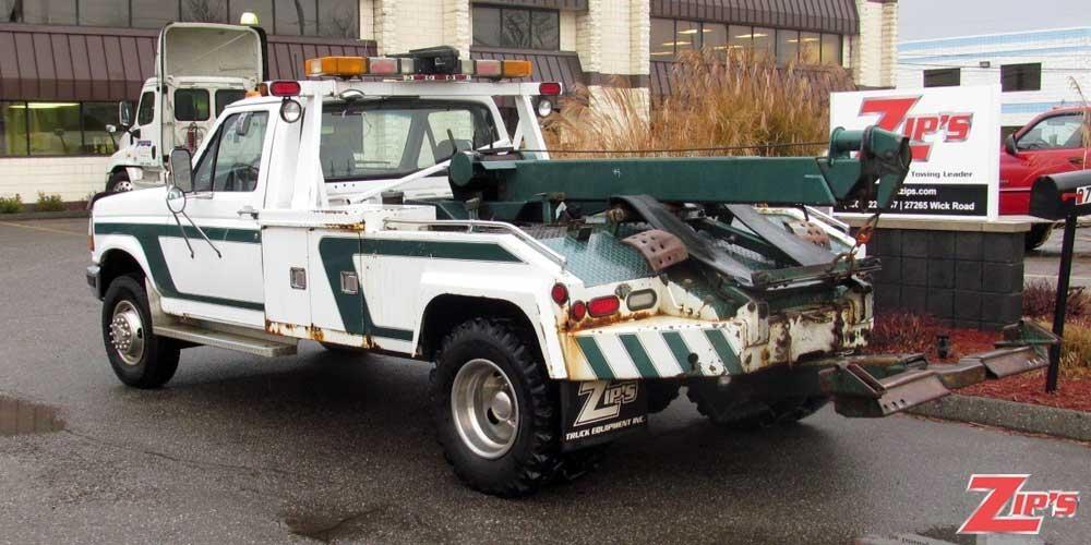 1994 Ford F450 Xlt Sd Wrecker Tow Truck