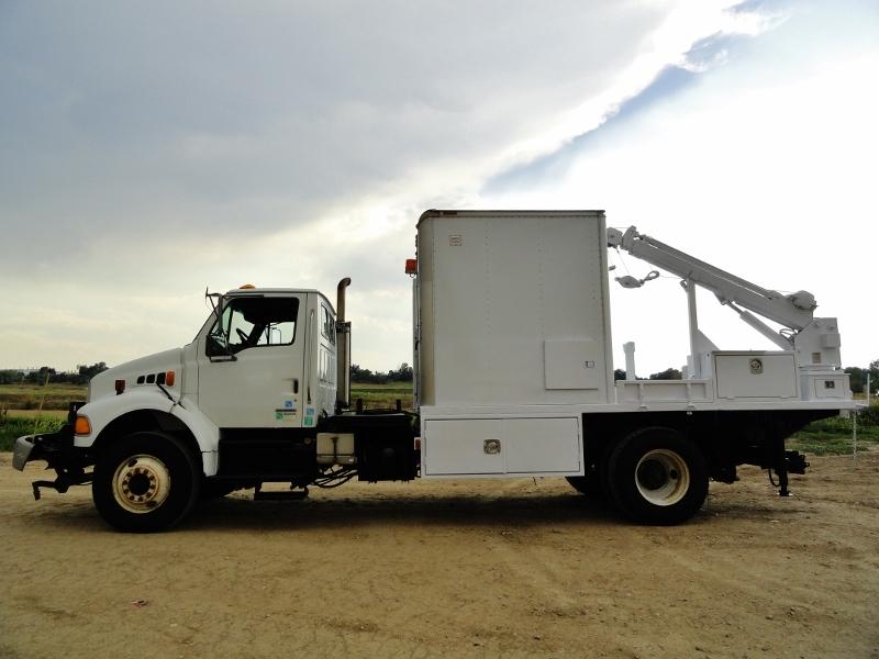 2007 Sterling Acterra Crane Truck