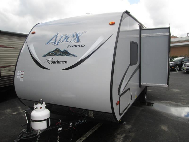 2017 Coachmen Apex Nano 193BHS Front Queen Rear Bunks