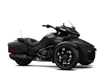 2017 Can-Am Spyder F3-T SE6 Pure Magnesium Metallic
