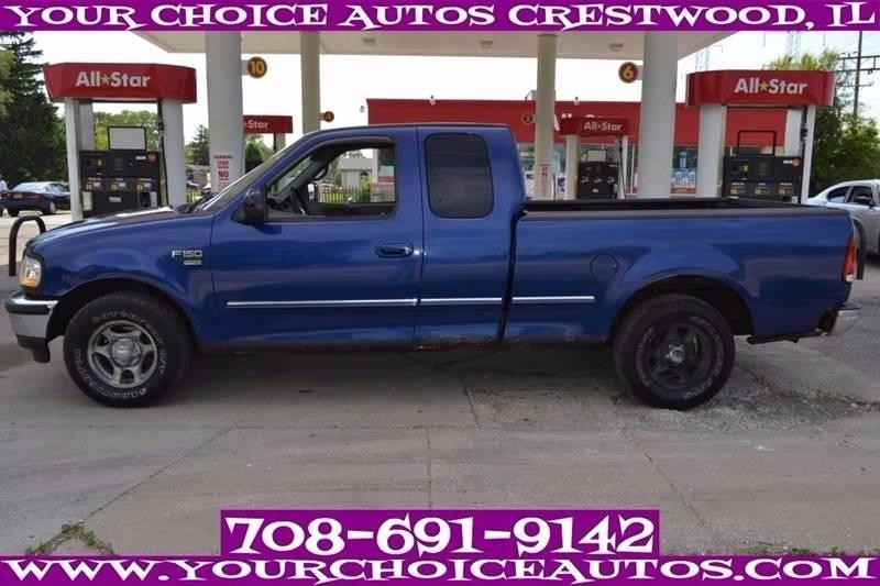 1998 Ford F150  Extended Cab