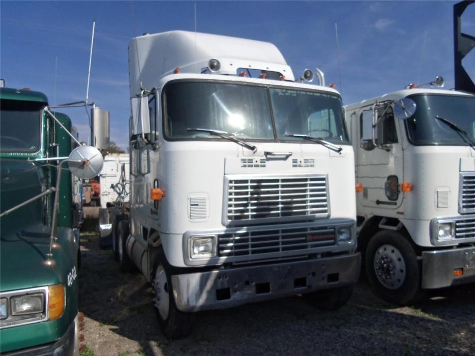 1988 International 9700 Cabover Truck - Sleeper