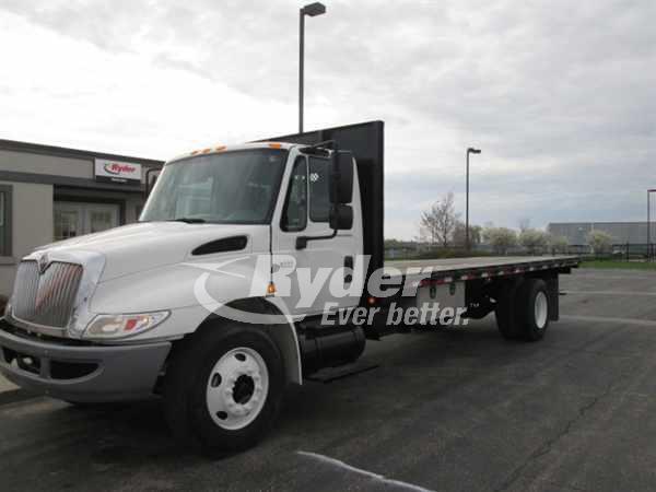 2007 International 4300 Flatbed Truck