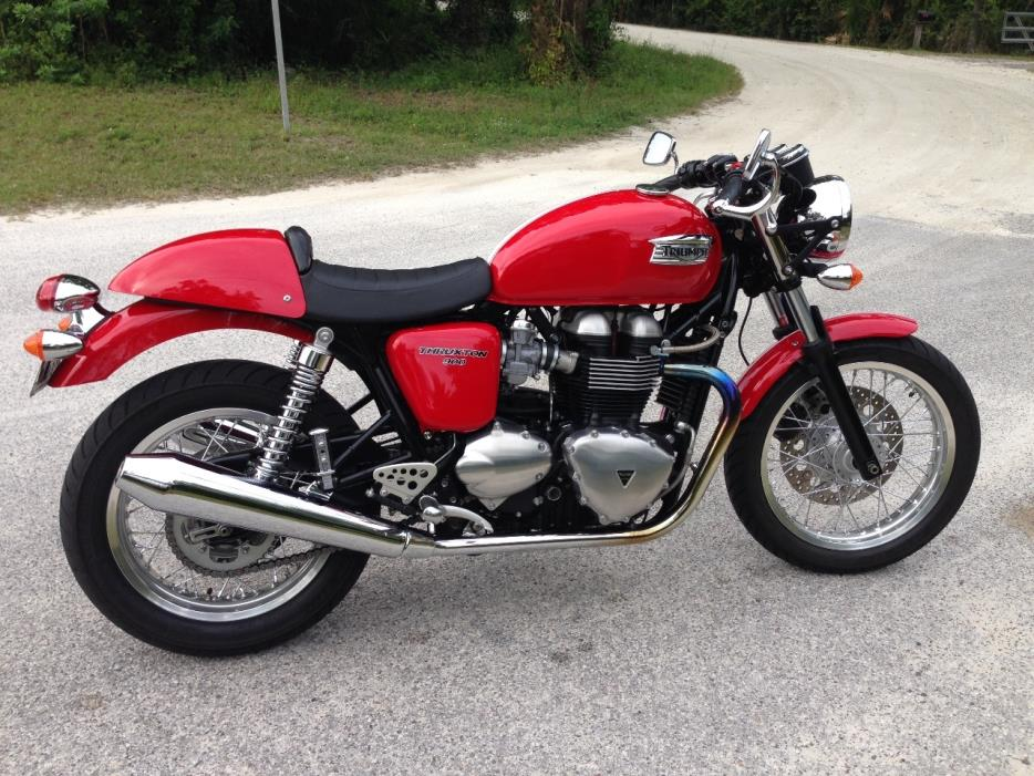 triumph thruxton 900 motorcycles for sale in florida. Black Bedroom Furniture Sets. Home Design Ideas