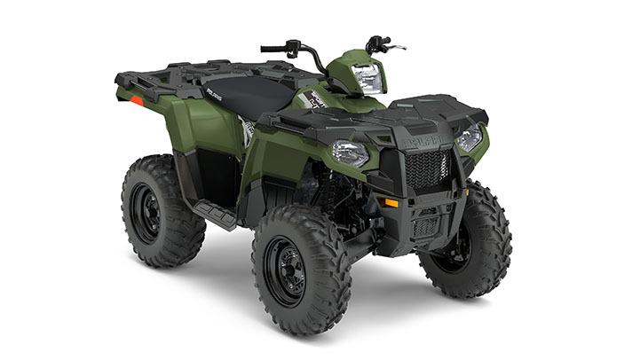 2017 Polaris Sportsman 450 Ho Sage Green