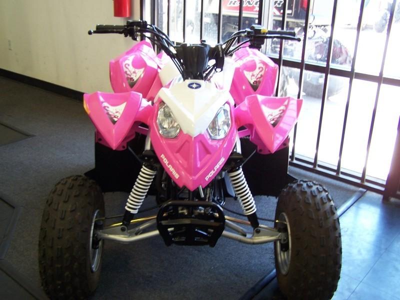 2013 Polaris Outlaw 90 Pink Le