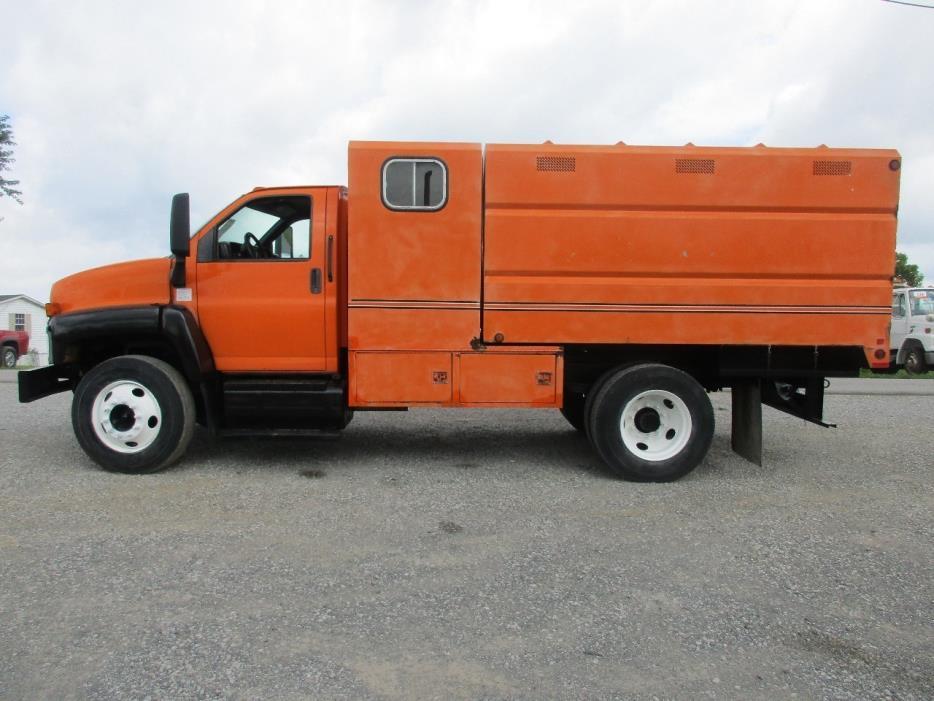 2005 Gmc C6500  Chipper Truck