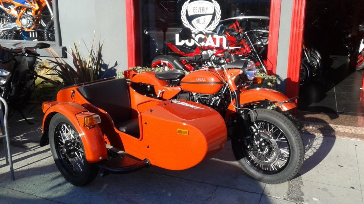 ural ct terracotta motorcycles for sale in california. Black Bedroom Furniture Sets. Home Design Ideas