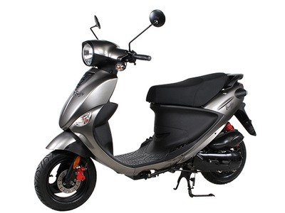 2016 Genuine Scooter Company Buddy 170 - Glossy Titanium