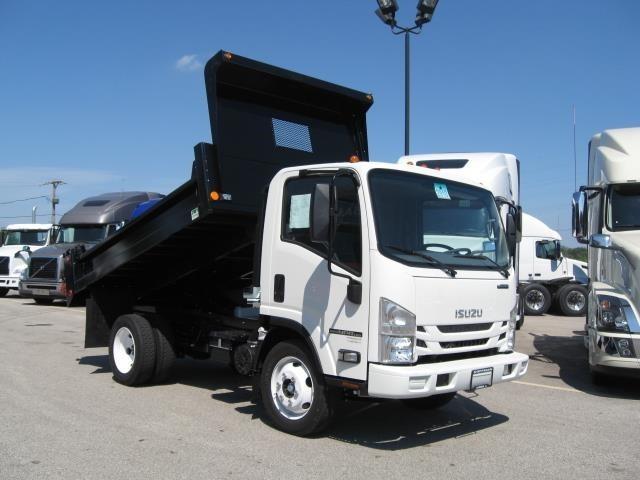 2016 Isuzu Npr Efi  Dump Truck