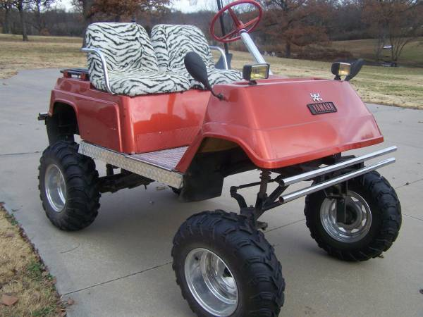 2000 Yamaha Gas Golf Cart Motorcycles For Sale