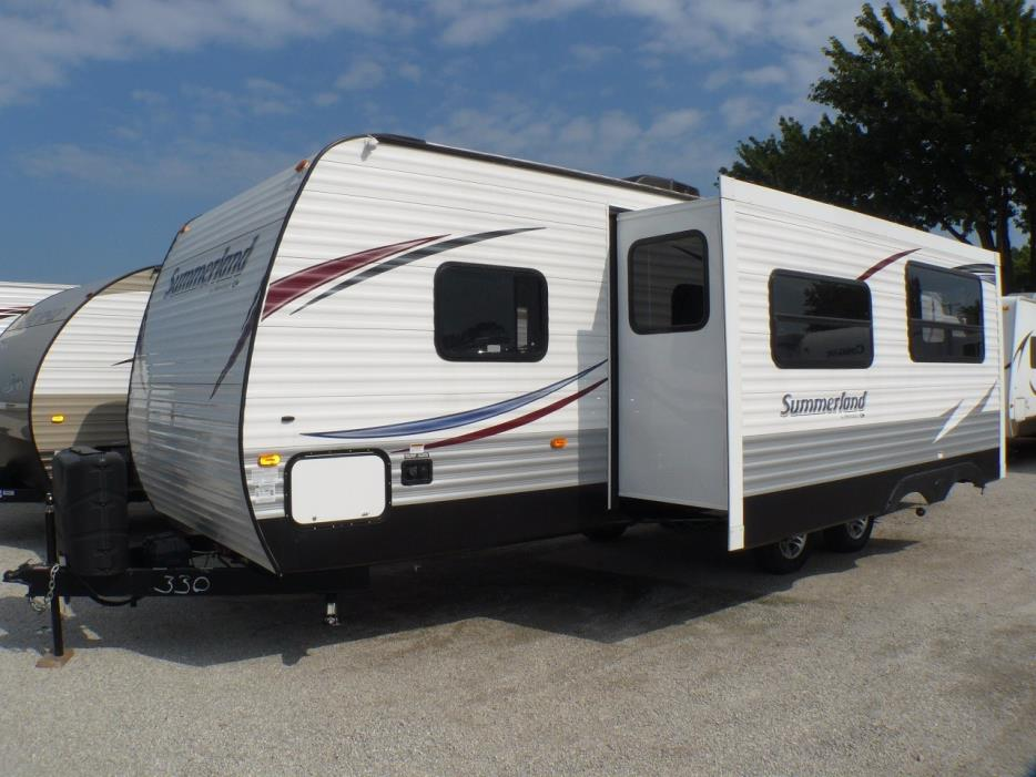 Double Over Double Bunk Bed Travel Trailers