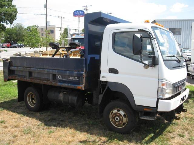2007 Mitsubishi Fuso Fg140  Dump Truck
