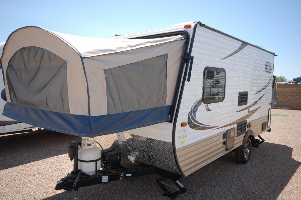 coachmen viking 16rbd with pop out tent beds rvs for sale. Black Bedroom Furniture Sets. Home Design Ideas