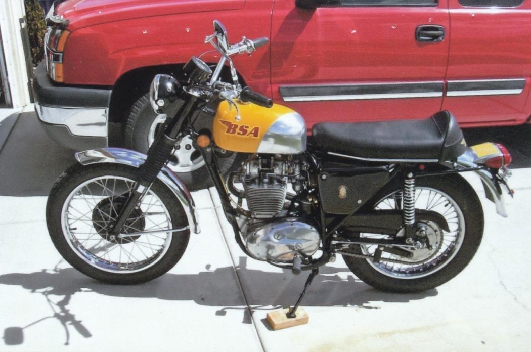 1971 BSA B50 Goldstar