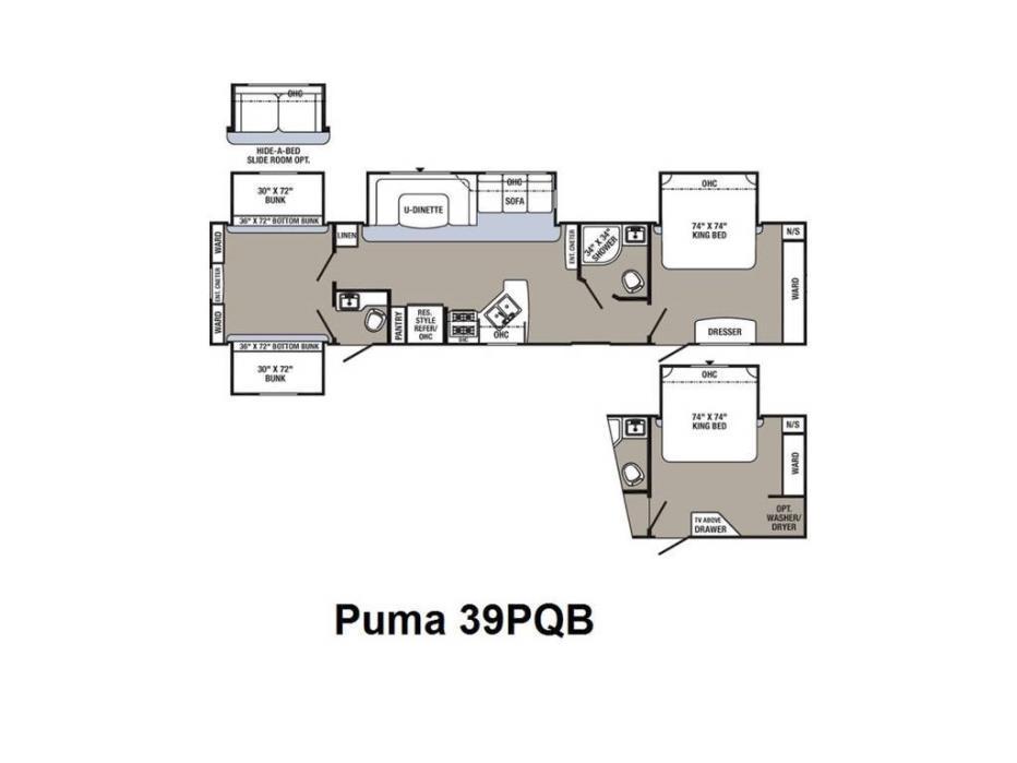 2017 Palomino Puma 39PQB