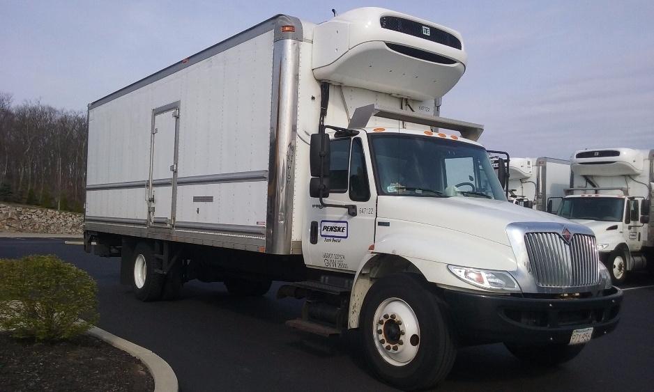 2013 International Durastar 4300  Refrigerated Truck