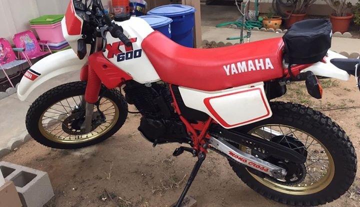 1989 yamaha xt600 motorcycles for sale. Black Bedroom Furniture Sets. Home Design Ideas
