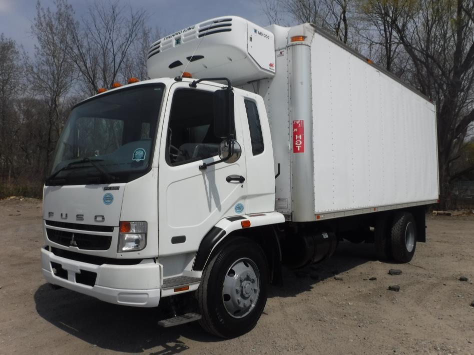 2008 Mitsubishi Fuso Fk260 Box Truck - Straight Truck