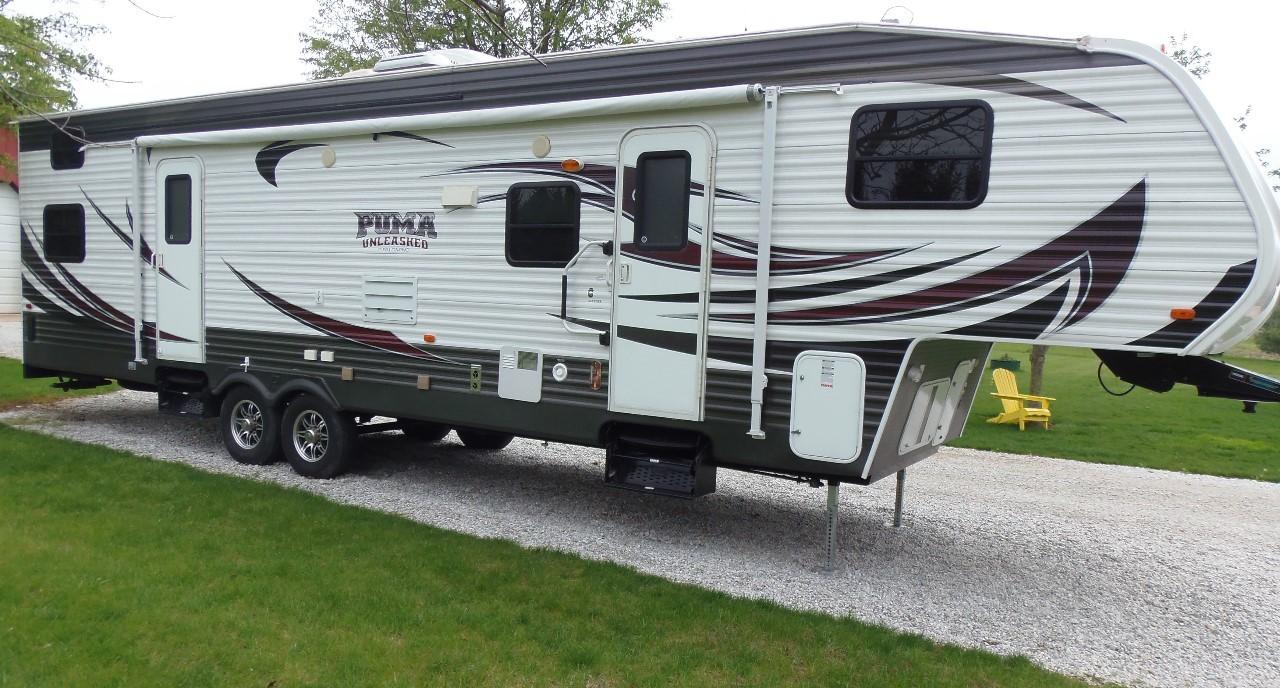 2014 Palomino Puma Unleashed 351-THSS