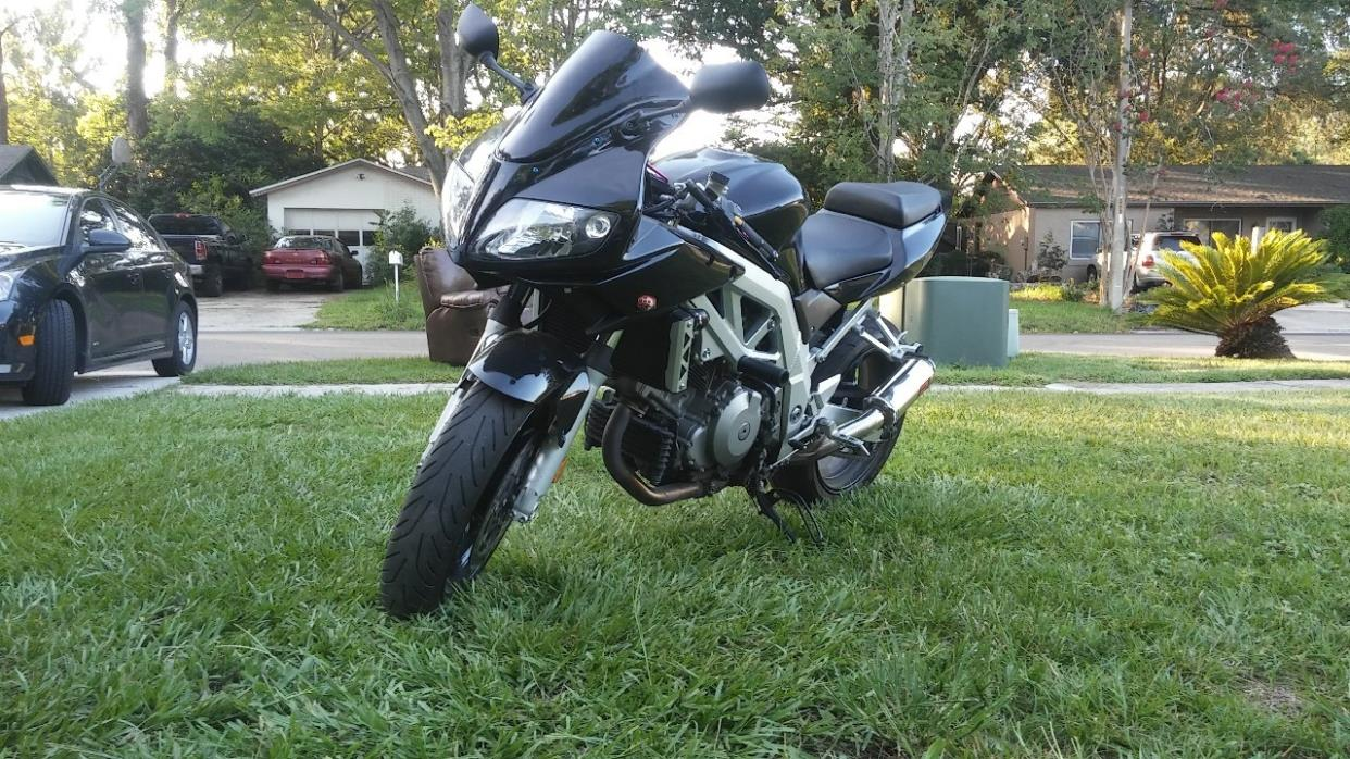 suzuki sv motorcycles for sale in jacksonville florida. Black Bedroom Furniture Sets. Home Design Ideas