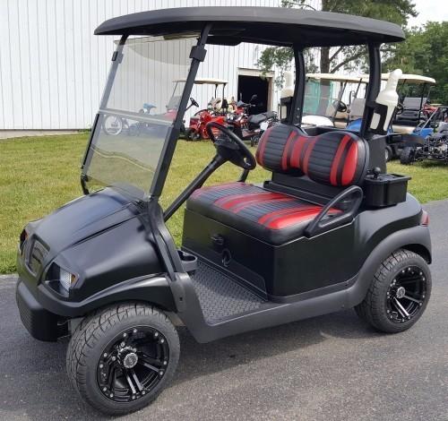 2011 Club Car 48V Electric Satin Black Phantom Golf Cart Club Car Pre