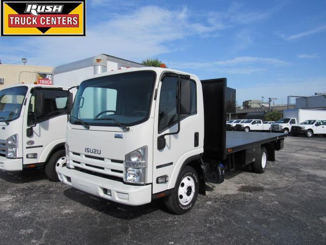 2014 Isuzu Npr  Flatbed Truck