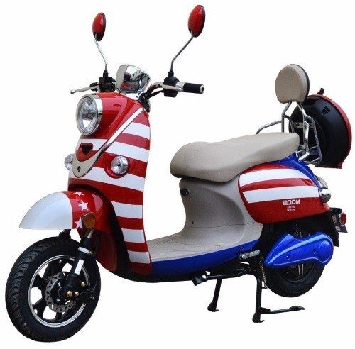 2016 Boom Trikes 800W Boom Patriot 48V Electric Moped Scooter