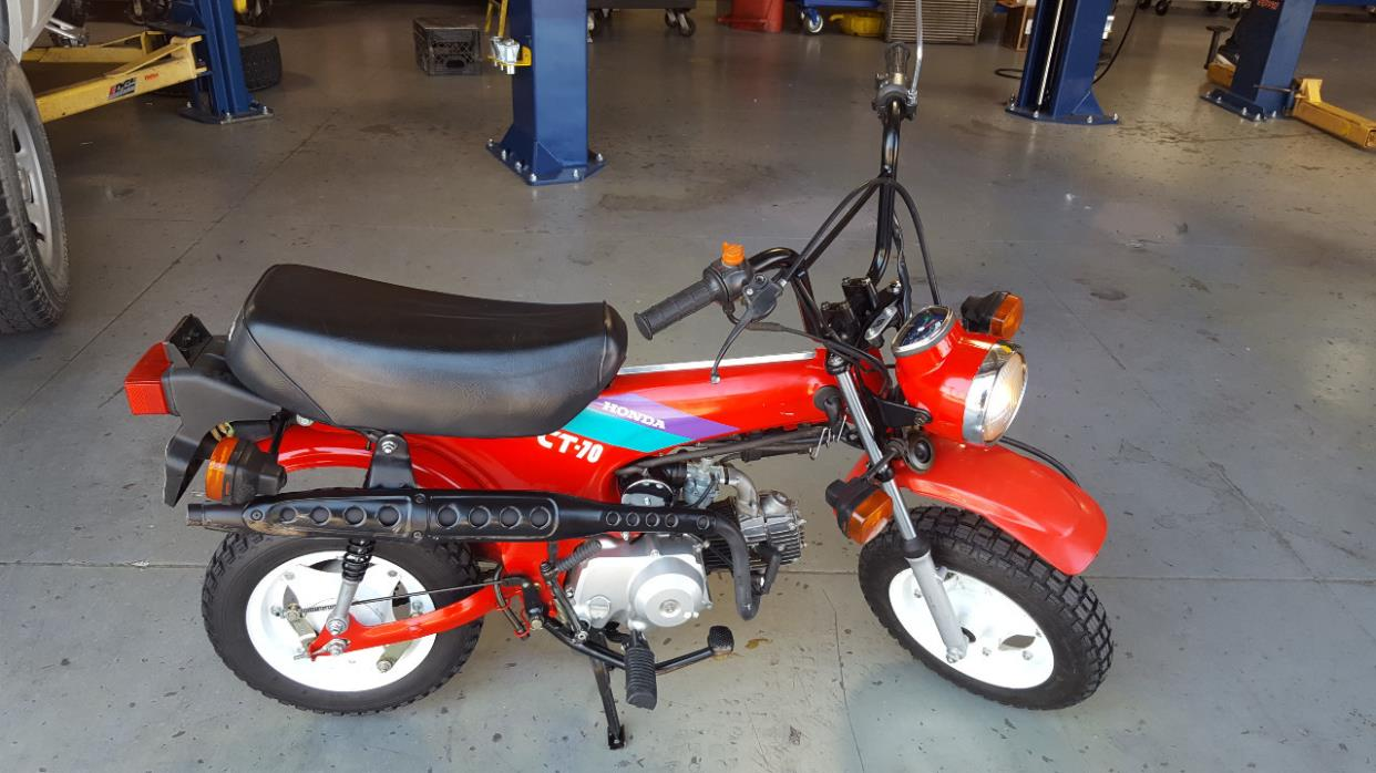 Honda ct70 motorcycles for sale in california 1993 honda ct 70 trail sciox Image collections
