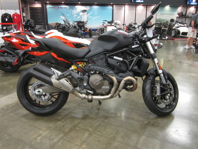 ducati monster 821 dark motorcycles for sale in california. Black Bedroom Furniture Sets. Home Design Ideas