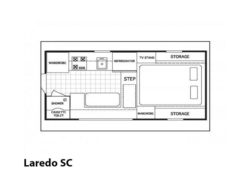 2017 Northstar Hardwall Truck Campers Laredo SC Base