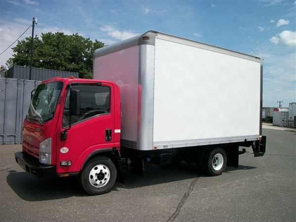 2012 Isuzu Npr Hd  Box Truck - Straight Truck