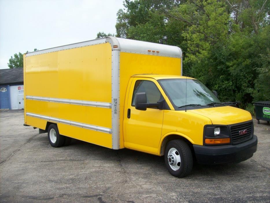 2012 Gmc C3500 Box Truck - Straight Truck