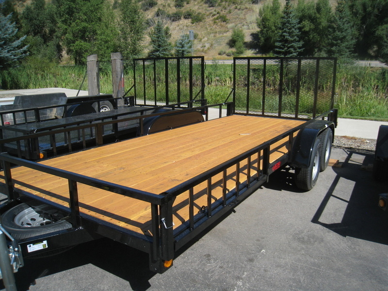 2017 Voyager ECHO ADVANTAGE 6X17 WOOD DECK