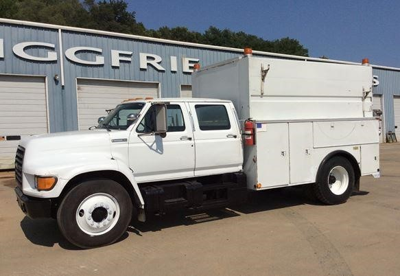 1995 Ford F800 Utility Truck - Service Truck
