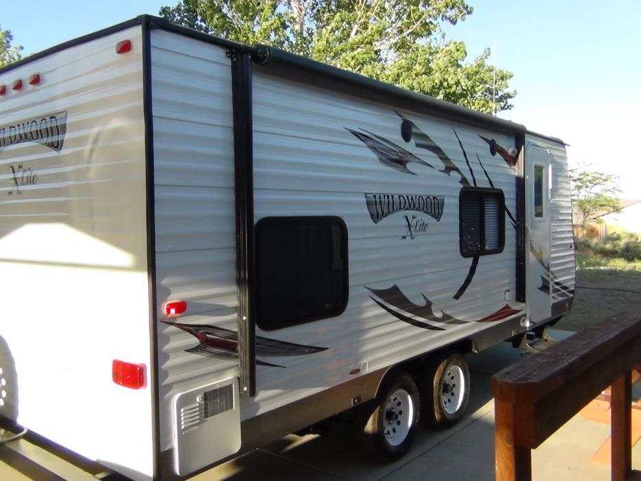 2013 Forest River Wildwood X-Lite 181BHXL