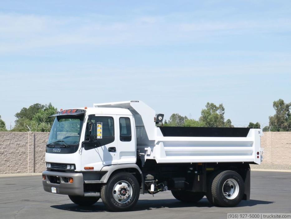 2008 Isuzu Fvr Dump Truck